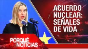 El Porqué de las Noticias: Pacto nuclear de Irán. Migrantes en EEUU. Investidura de Sánchez