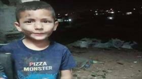Macabras fotografías: Colono israelí atropella a un niño palestino