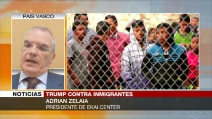 Zelaia: Trump intenta eliminar el derecho al asilo para migrantes