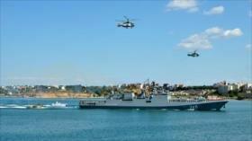 "Armada de Rusia sigue ""submarino enemigo"" en las costas de Siria"