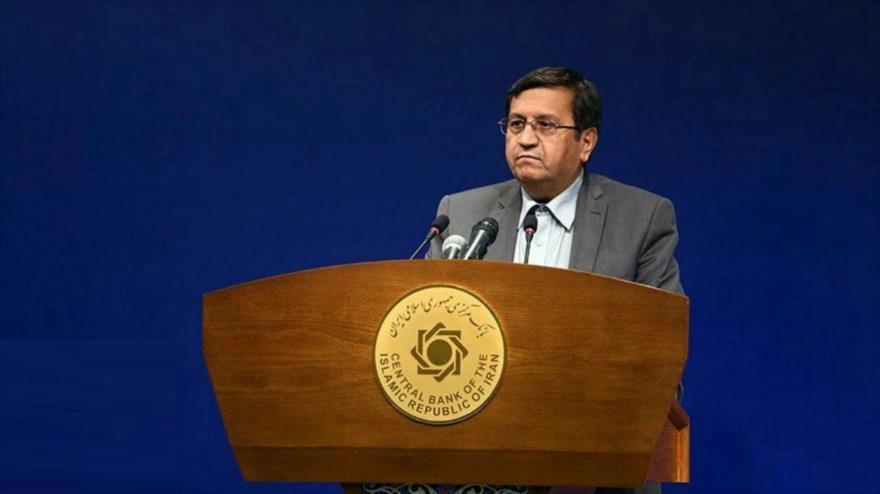 El presidente del Banco Central de Irán (BCI), Abdolnaser Hemati.