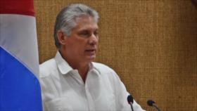 """Díaz-Canel: EEUU con sus políticas """"se ensaña"""" con Cuba"""