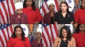 Trump defiende su ataque racista contra legisladoras demócratas