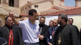 Bashar al-Asad: Occidente apunta contra diversidad social de Siria