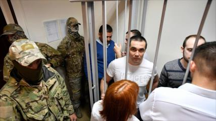 Corte rusa extiende arresto a un grupo de marineros ucranianos
