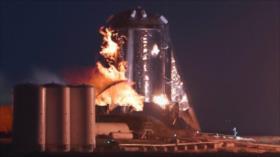 Vídeo: Estalla nave de prueba Starhopper de SpaceX en plataforma