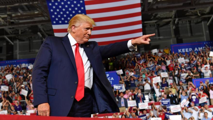 Vídeo: Racismo de Trump se convierte en viral entre sus seguidores | HISPANTV