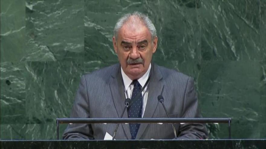 El embajador de Cuba ante la Organización de Naciones Unidas (ONU), Humberto Rivero.