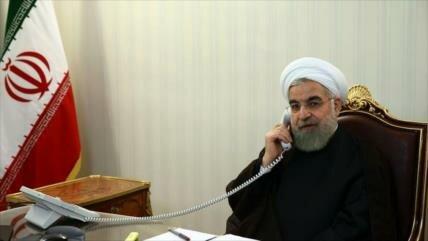 Irán insta a Europa a actuar contra 'guerra económica' de EEUU