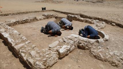 Hallan en el desierto de Néguev restos de mezquita de 1200 años
