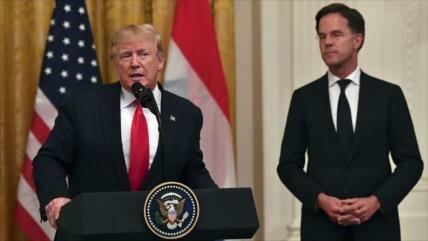 "Trump afirma que EEUU derribó un ""dron iraní"" en estrecho de Ormuz"