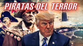 Detrás de la Razón: Piratas de reina y Trump, Irán promete respuesta; EEUU envía cientos de tropas