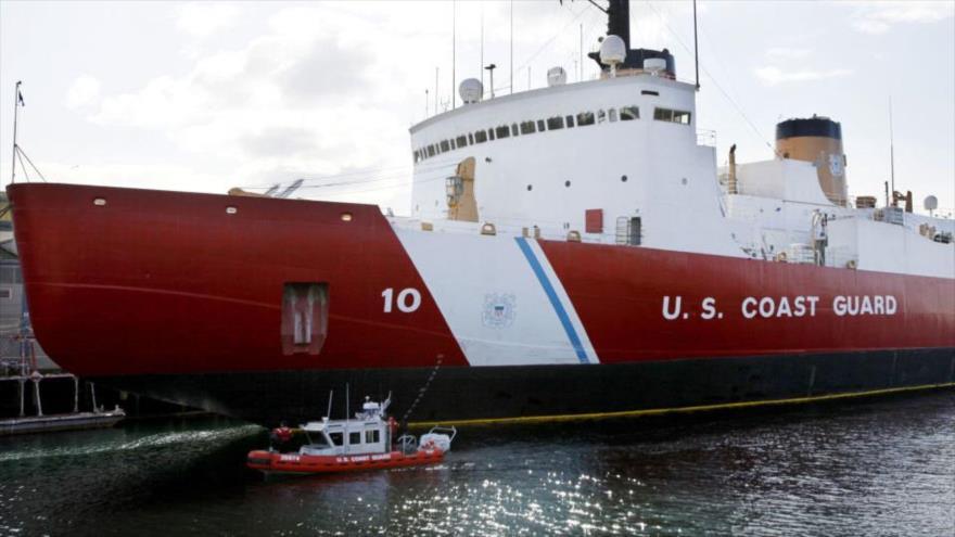 El rompehielo estadounidense Polar Star.