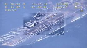 Irán difunde imágenes que desmienten derribo de su dron por EEUU