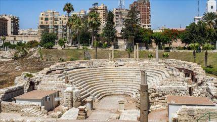 Arqueólogos hallan una antigua ciudad romana en Egipto