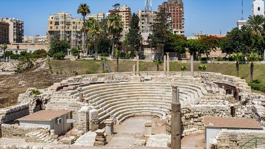 Arqueólogos hallan una ciudad de la época romana, que data de entre los siglos IV-VII, en la localidad egipcia de Alejandría.