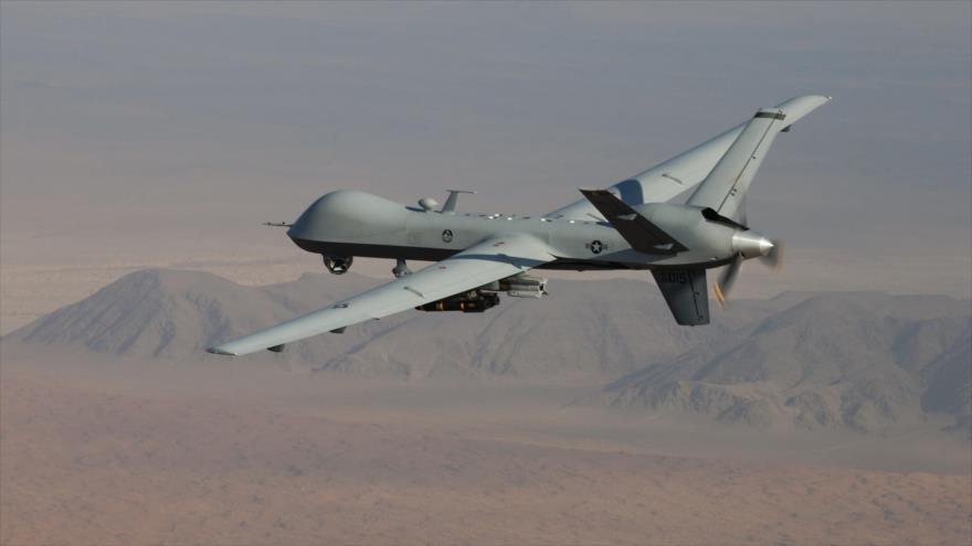 Un dron de ataque MQ-9 Reaper de la Fuerza Aérea estadounidense.