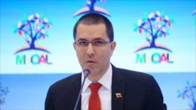 Venezuela rechaza el acoso de EEUU a países antimperialistas