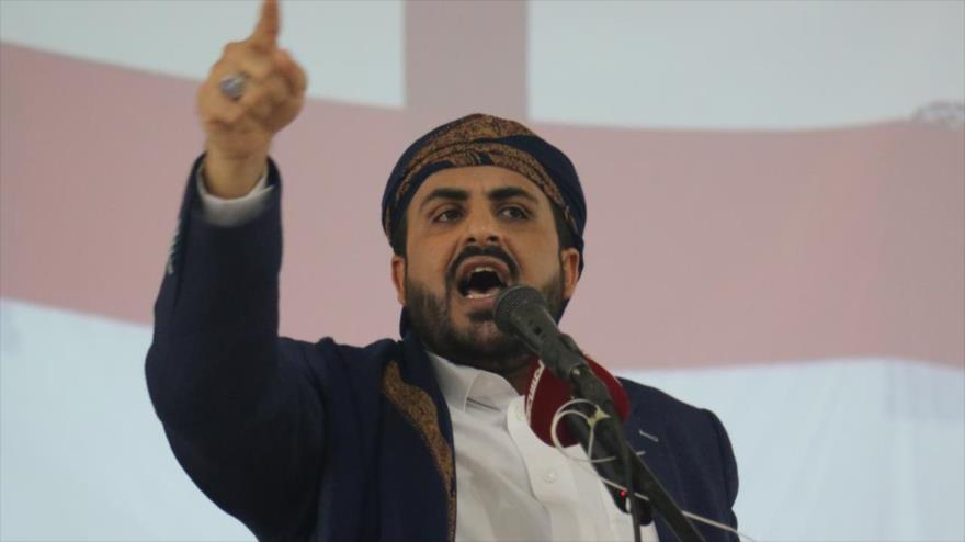 El portavoz del movimiento popular yemení Ansarolá, Muhamad Abdel Salam.