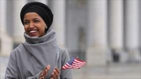 Ilhan Omar pide a congresistas de EEUU apoyar boicot contra Israel