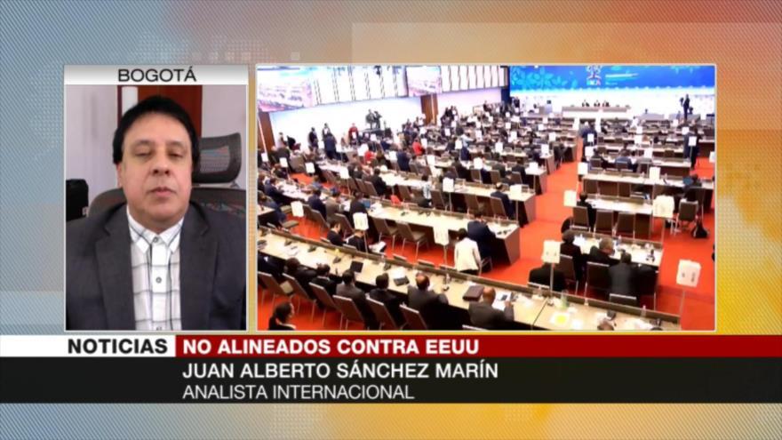 Sánchez Marín: El MPNA debe alinearse contra la hegemonía mundial