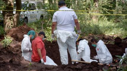 Hallan 1500 cuerpos en fosas comunes en solo 5 años en México