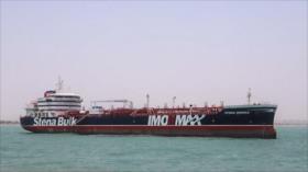 Audio admite versión iraní sobre detención del petrolero británico