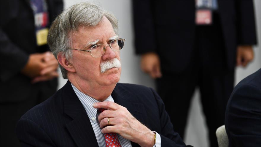 El asesor de Seguridad Nacional de EE.UU., John Bolton, durante un acto en la ciudad japonesa de Osaka, 29 de junio de 2019. (Foto: AFP)