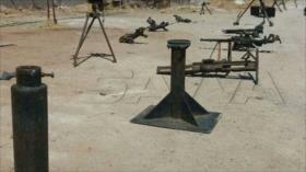 Fotos: Siria incauta armas israelíes y occidentales en Al-Qunietra