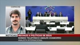 Chamorro: El MNOAL contrapone esfuerzos bélicos de EEUU