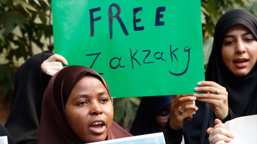 Proyectan mensajes para pedir liberación de Al-Zakzaky en Londres   HISPANTV