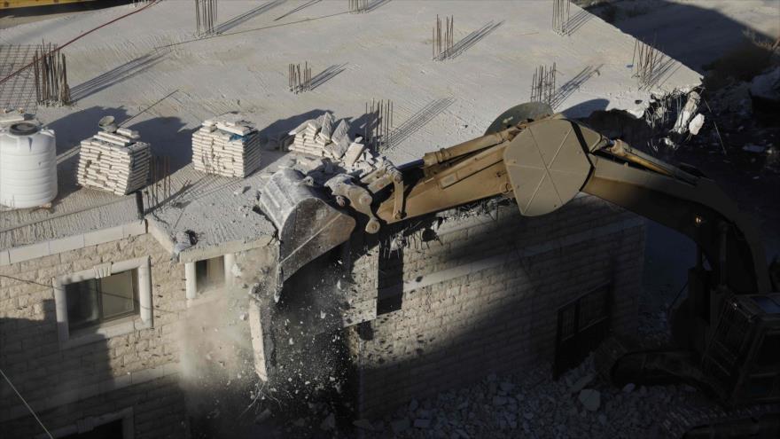 Israel comienza a demoler casas de los palestinos en Al-Quds