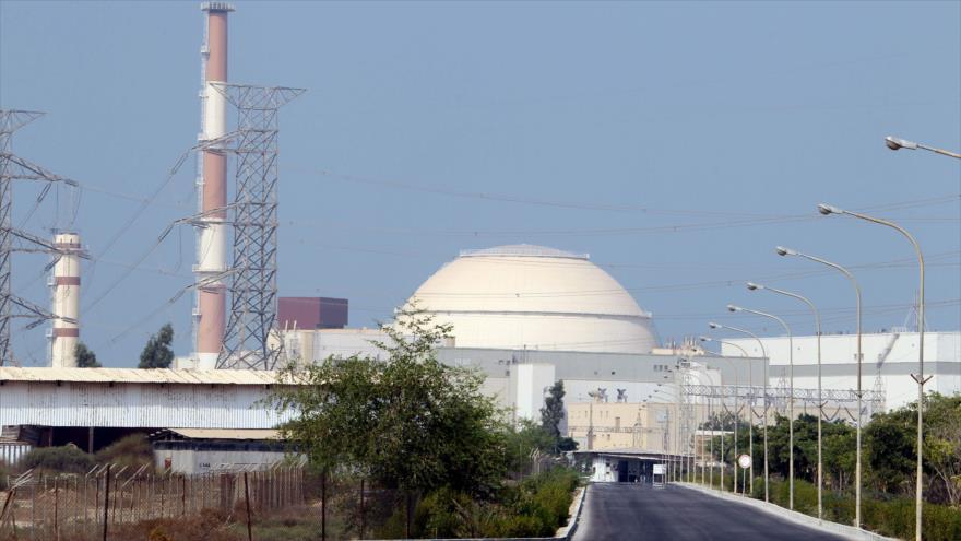 La planta nuclear de Bushehr, situada en el suroeste de Irán.