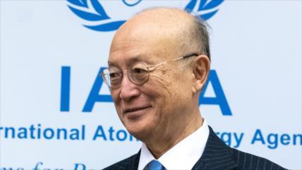 Muere el director general de la AIEA Yukiya Amano a los 72 años
