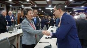 China reafirma apoyo a esfuerzos de Venezuela por su independencia