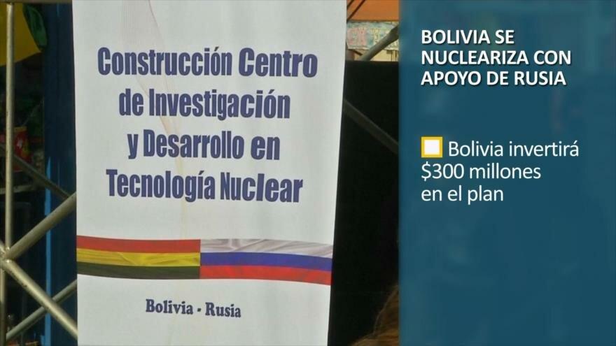 PoliMedios: Bolivia se nucleariza con apoyo de Rusia