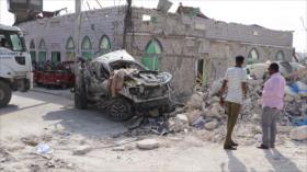 Ataque con coche bomba deja al menos 17 muertos en Somalia
