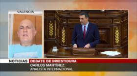 Martínez: La única posibilidad de Sánchez es un pacto PSOE-Podemos