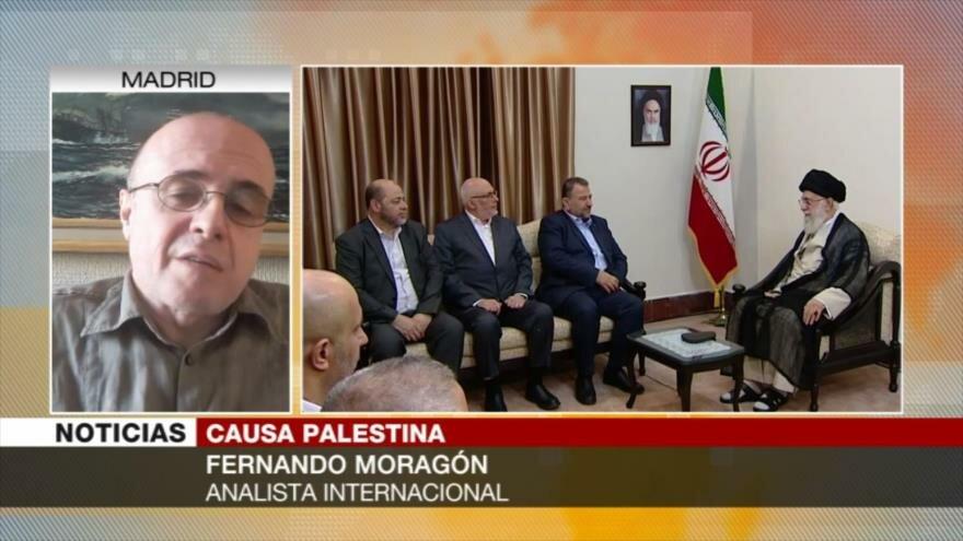 Moragón: No habrá Estado palestino mientras EEUU apoye a Israel