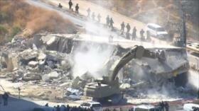 Israel sigue con la demolición de viviendas palestinas