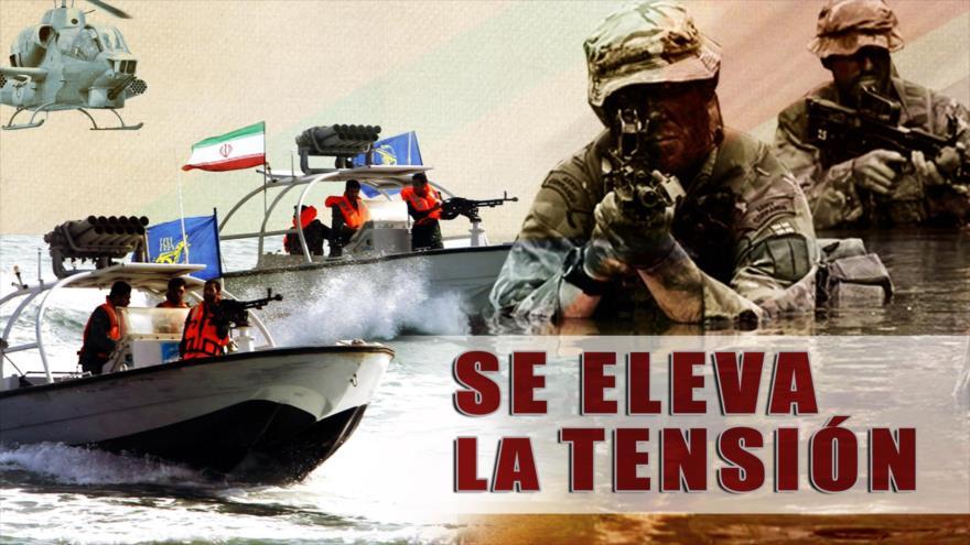 Detrás de la Razón: Alerta de guerra: Irán, el Reino Unido y EEUU ¿Cuál es la trampa de EEUU?