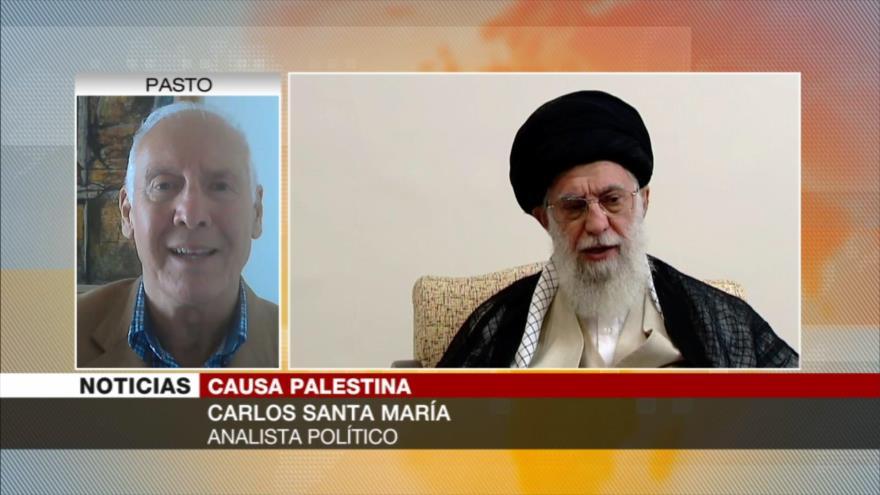 Santa María: A más agresión, Irán y Palestina saben que triunfarán