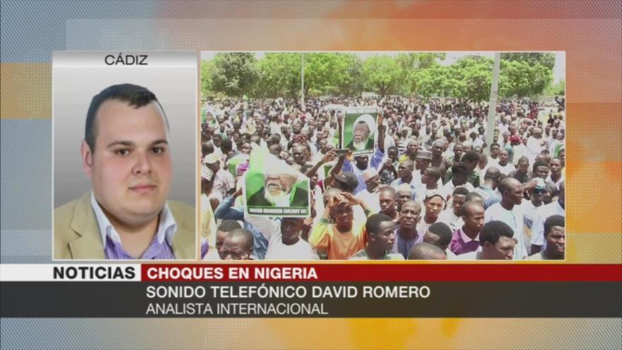 Romero: Nigeria lanza redadas contra grupos como el de Al-Zakzaky | HISPANTV