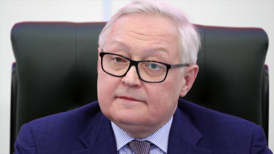 El vicecanciller ruso, Serguéi Riabkov.