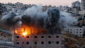 """Hezbolá tilda de """"crimen de guerra"""" demolición de casas palestinas"""
