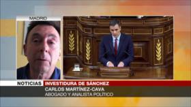 Martínez-Cava: Fracaso de Sánchez en 1.ª votación era esperable