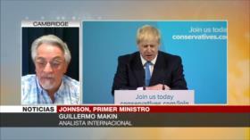 Makin: Mandato de Johnson como premier británico será muy corto