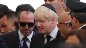 """Johnson, """"el Trump británico y sionista apasionado"""" que ama Israel"""