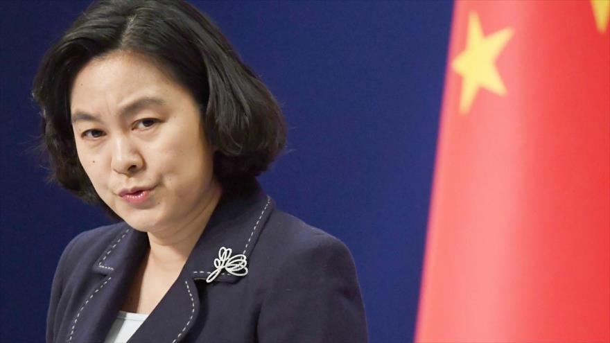 "China insta a EEUU a sacar sus ""manos negras"" de Hong Kong | HISPANTV"