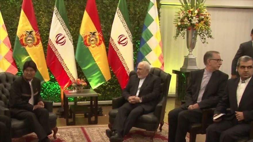 Zarif en Bolivia. Nuevo premier británico. Crisis en Puerto Rico